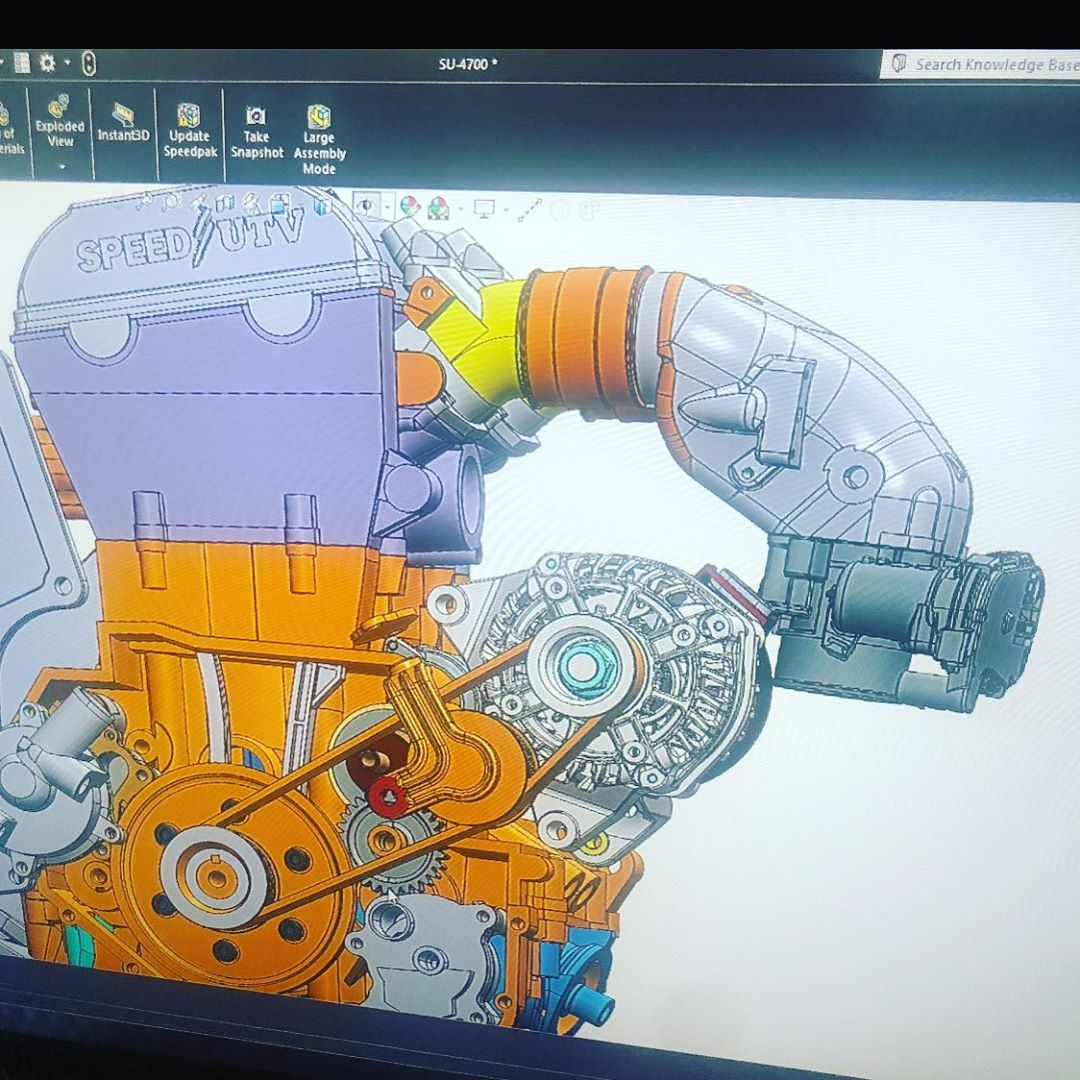 999cc Speed UTV Turbo Engine is coming to life, everything has a reason and it n...