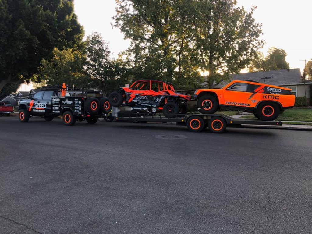 Baja Bound with the XXXX and the Gordini...