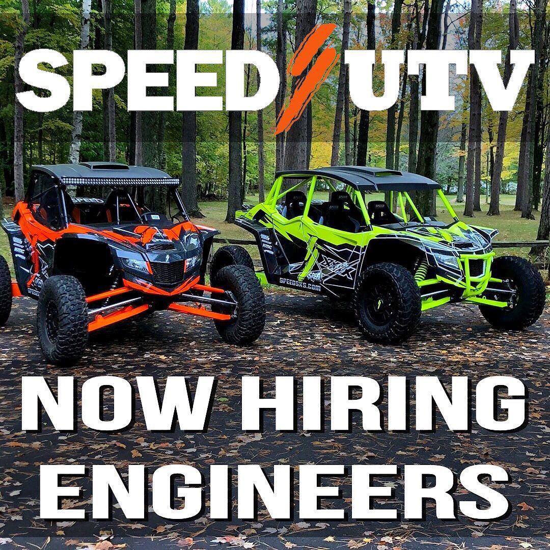 Speed UTV // Robby Gordon Motorsports are currently seeking full time engineers ...