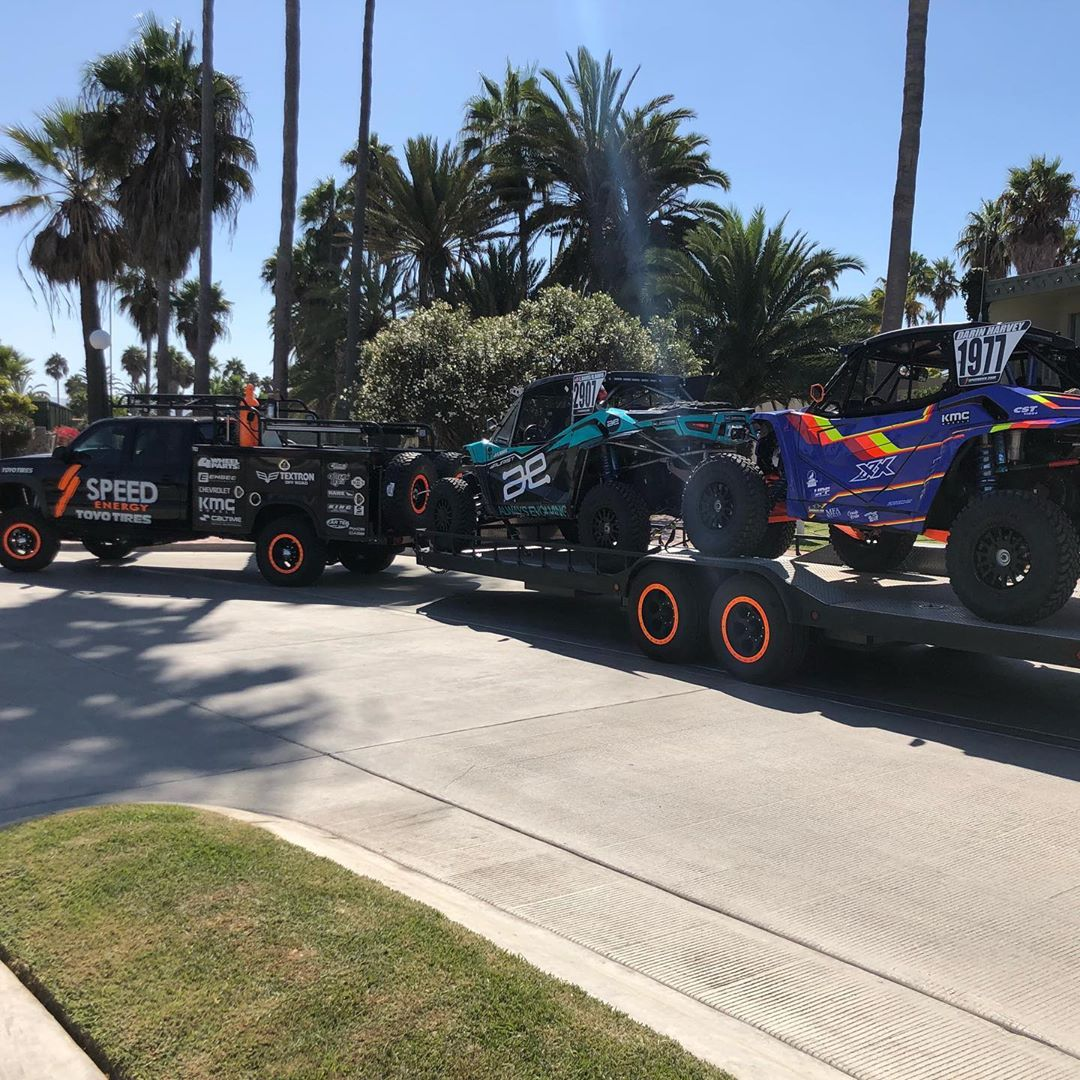 The Speed UTV team is ready for the Baja 400 good luck to everyone racing a XX...