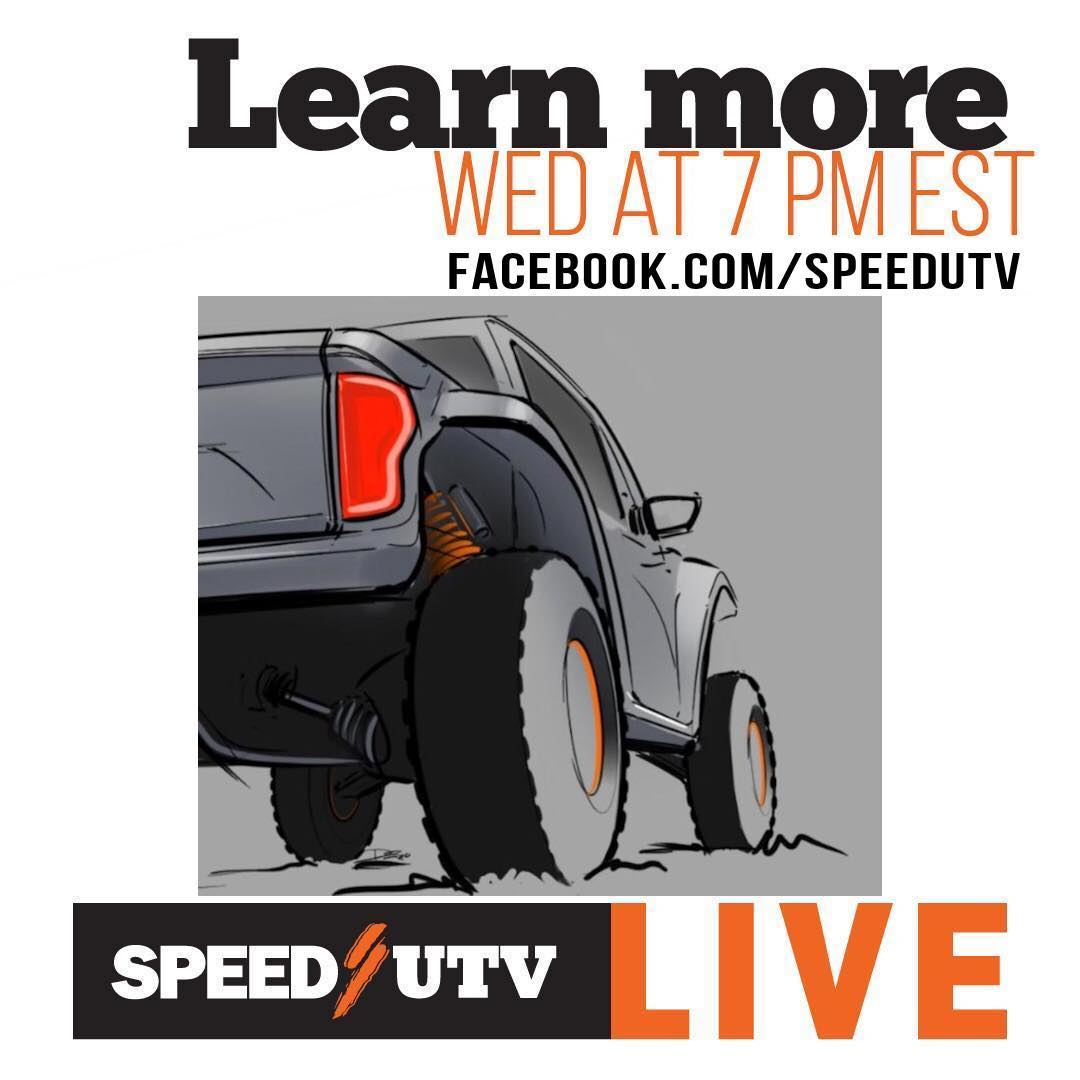 Live Tonight @ 7pm EST on @robbygordon instagram and on SpeedUTV Facebook live. ...