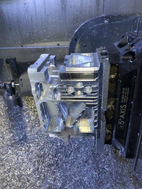 machined speed UTV bulkhead