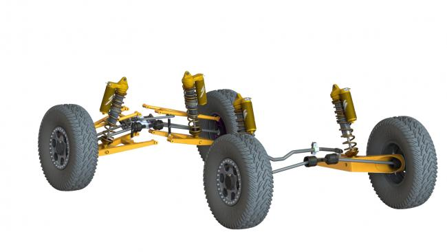 speed UTV drivetrain