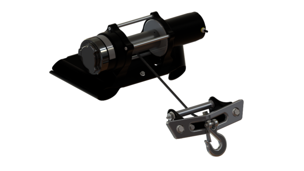Speed 4500 LB winch and Mounting kit